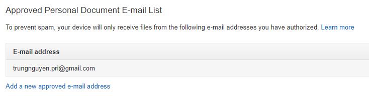 dang ky email amazon Hướng dẫn sử dụng máy đọc sách Kindle